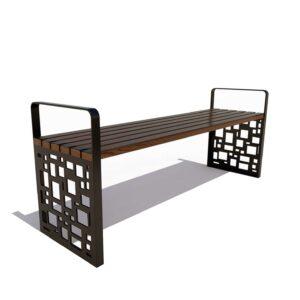 Скамейка садовая «Барселона» без спинки