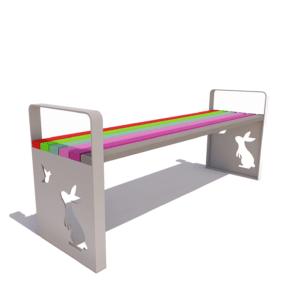 Скамейка для детских площадок «Детская»