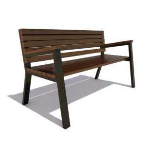 Садово-парковая скамейка «Гамбург»