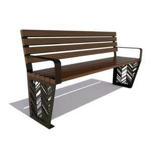 Скамейка садовая «Гарнизон»
