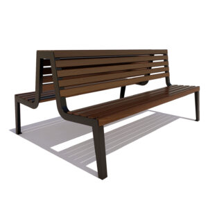Скамейка двойная «Магадан»