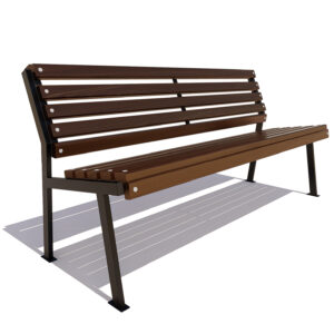 Скамейка «Ретро» без подлокотников