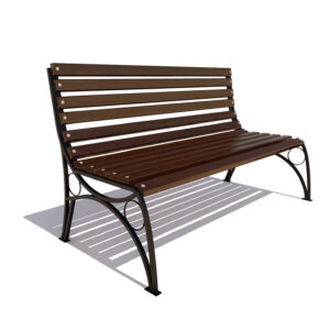 Скамейка «Тверь» без подлокотников
