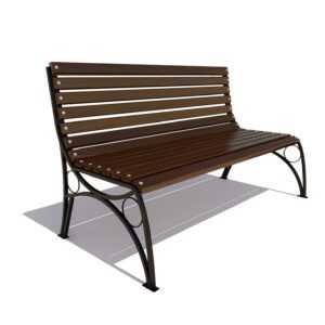 Скамейка «Тверь премиум» без подлокотников