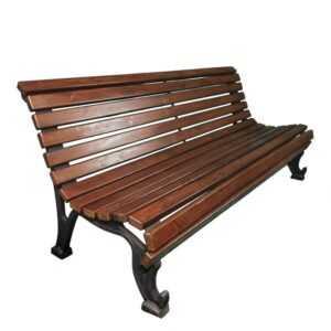 Скамейка чугунная «Краснодар»