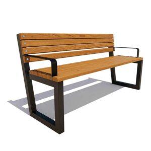 Садово-парковая скамейка «Ставрополь»
